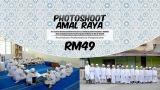 PHOTOSHOOT RAYA MURAH DAN BEST DI WHITE STUDIO MALAYSIA 2017 SAMBILMENDERMA