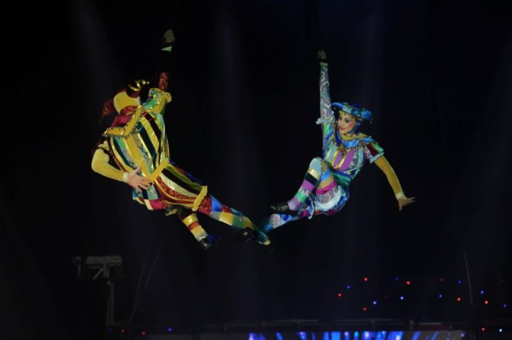 The Moscow Circus Emsemble Dancers (4)